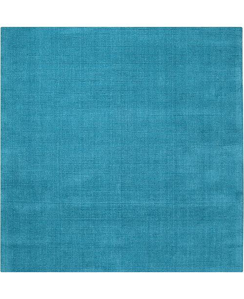 Surya Mystique M-342 Bright Blue 8' Square Area Rug