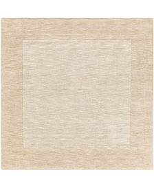 "Surya Mystique M-5324 Butter 9'9"" Square Area Rug"