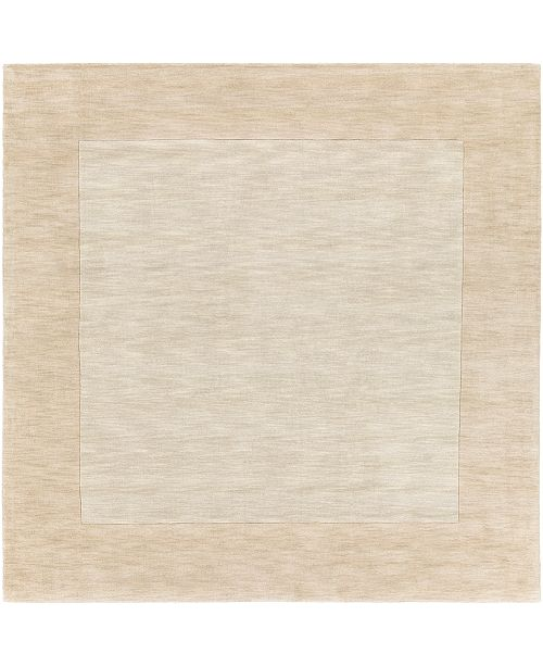 Surya Mystique M-5324 Butter 8' Square Area Rug