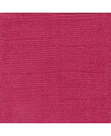 "Surya Mystique M-5327 Bright Pink 18"" Square Swatch"