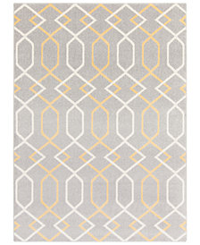 "Surya Horizon HRZ-1043 Medium Gray 3'3"" x 5' Area Rug"