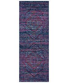 "Surya Harput HAP-1003 Purple 2'7"" x 7'3"" Area Rug"