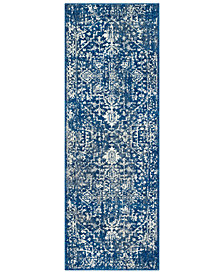 "Surya Harput HAP-1022 Dark Blue 2'7"" x 7'3"" Area Rug"
