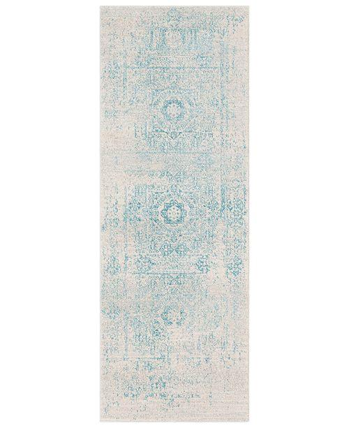 "Surya Harput HAP-1026 Teal 2'7"" x 7'3"" Area Rug"