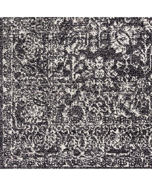 "Surya Harput HAP-1028 Black 18"" Square Swatch"