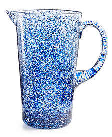 The Cellar Coastal Blue Paint Pitcher, Created for Macy's