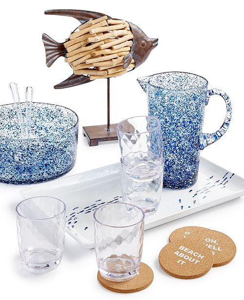 The Cellar Coastal Serveware and Figural Collection, Created for Macy's