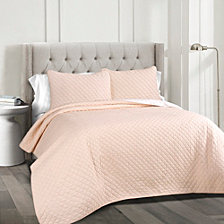 Ava Cotton 3-Piece Full/Queen Quilt Set