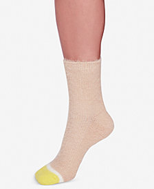 Free People Fuzzy Sparkle Socks