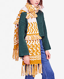 Free People Mile High Fringe Scarf