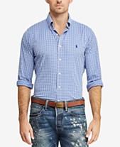 5c9e988a5 Polo Ralph Lauren Men s Classic Fit Performance Twill Shirt