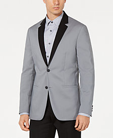 Alfani Men's Contrast Luxe Sport Coat, Created for Macy's