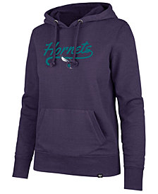 '47 Brand Women's Charlotte Hornets Clean Sweep Headline Hoodie