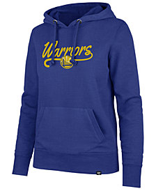 '47 Brand Women's Golden State Warriors Clean Sweep Headline Hoodie