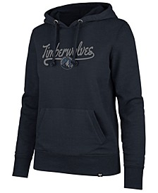 Women's Minnesota Timberwolves Clean Sweep Headline Hoodie