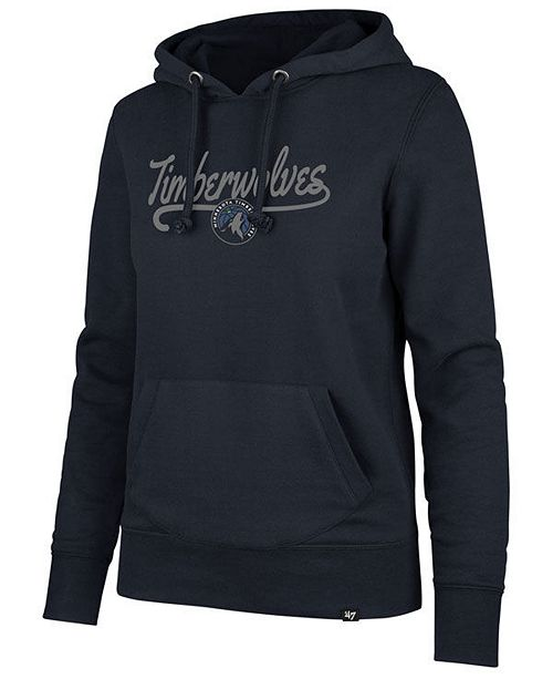 '47 Brand Women's Minnesota Timberwolves Clean Sweep Headline Hoodie