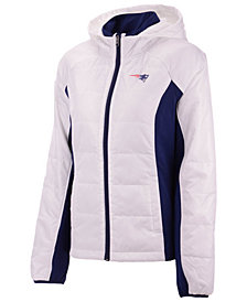 G-III Sports Women's New England Patriots Defense Polyfill Jacket
