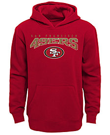 Outerstuff San Francisco 49ers Fleece Hoodie, Big Boys (8-20)