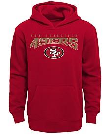 Outerstuff San Francisco 49ers Fleece Hoodie, Big Boys (8-20)