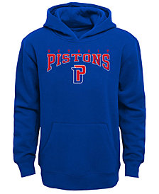 Outerstuff Detroit Pistons Fleece Hoodie, Big Boys (8-20)