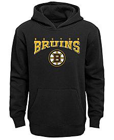 Outerstuff Boston Bruins Fleece Hoodie, Big Boys (8-20)
