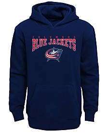Outerstuff Columbus Blue Jackets Fleece Hoodie, Big Boys (8-20)