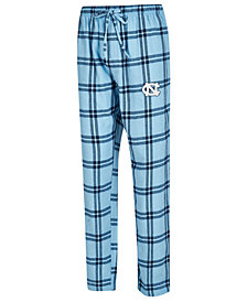 Concepts Sport Men's North Carolina Tar Heels Homestretch Flannel Pajama Pants