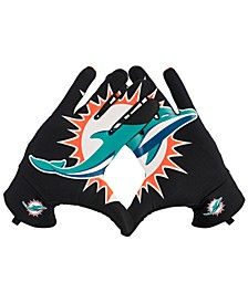 Miami Dolphins Fan Gloves