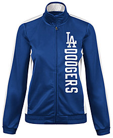 G-III Sports Women's Los Angeles Dodgers Outfield Track Jacket