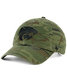 '47 Brand Kansas State Wildcats Regiment CLEAN UP Strapback Cap
