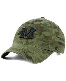 '47 Brand Michigan Wolverines Regiment CLEAN UP Strapback Cap