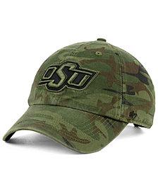 '47 Brand Oklahoma State Cowboys Regiment CLEAN UP Strapback Cap