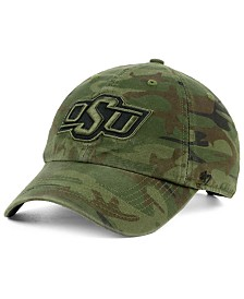 '47 Brand Oklahoma State Cowboys Regiment CLEAN UP Strapback Cap
