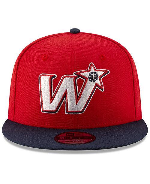 new style ebb3a c7aa5 ... New Era Washington Wizards Light City Combo 9FIFTY Snapback Cap ...
