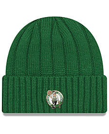 New Era Boston Celtics Metal Cuffed Knit Hat