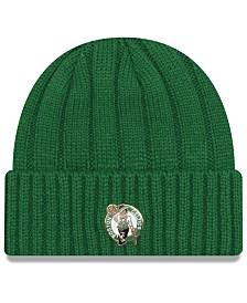 New Era Boston Celtics Metal Cuffed Knit Hat