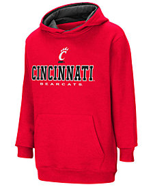 Colosseum Cincinnati Bearcats Pullover Hooded Sweatshirt, Big Boys (8-20)