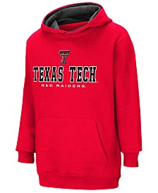 Colosseum Texas Tech Red Raiders Pullover Hooded Sweatshirt, Big Boys (8-20)