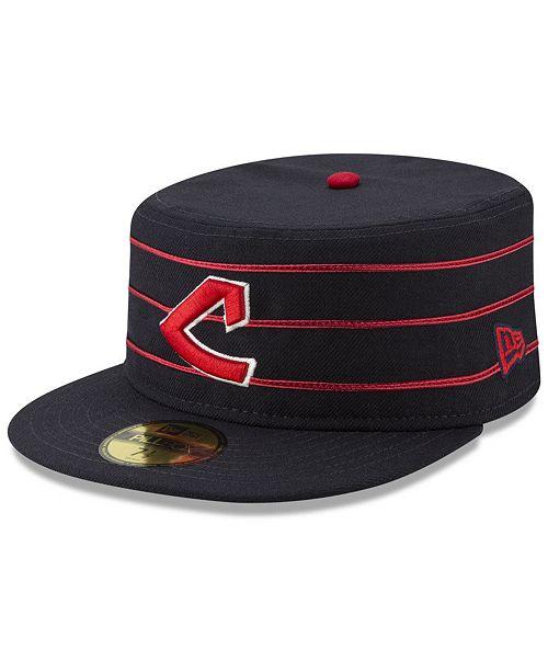 buy popular adb39 c89b8 ... New Era Cleveland Indians Pillbox 59FIFTY-FITTED Cap ...