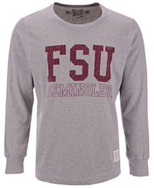 Men's Florida State Seminoles Triblend Fleece Crew Sweatshirt