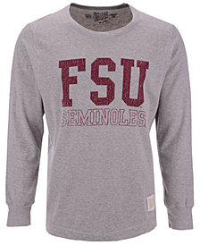 Retro Brand Men's Florida State Seminoles Triblend Fleece Crew Sweatshirt