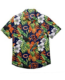Men's Chicago Bears Floral Camp Shirt