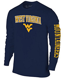 Colosseum Men's West Virginia Mountaineers Midsize Slogan Long Sleeve T-Shirt