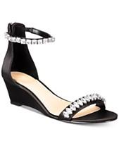 8b74c7a6928e Jewel Badgley Mischka Mel Evening Wedge Sandals