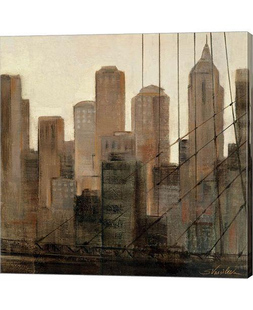 Metaverse View From The Bridge I by Silvia Vassileva Canvas Art