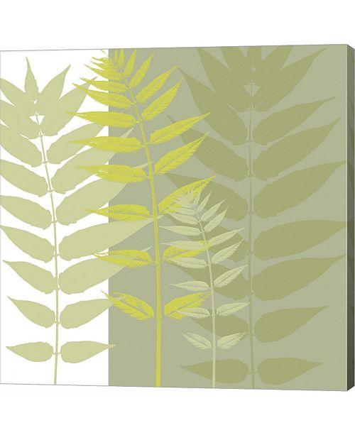 Metaverse Field Greens by Erin Clark Canvas Art