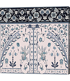 Wedgewood Trellis by Mindy Sommers Canvas Art