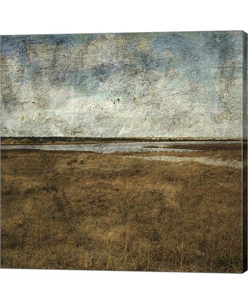 Metaverse Mason Boro VII by John W. Golden Canvas Art