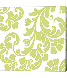 Calyx Damask by Color Bakery Canvas Art