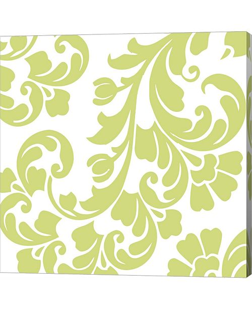 Metaverse Calyx Damask by Color Bakery Canvas Art